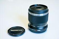 Olympus m. Zuiko Digital ED 30mm f3.5 macro, negro 30 mm f/3, 5