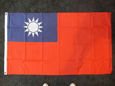 Taiwan 5x3 Flag Republic of China Taiwainese Chinese Nationalist Ww2 Business BN