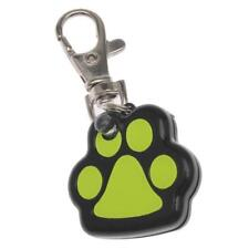 Pet LED Light Up Glowing Dog Tag Useful Footprint Shape Pet Dogs Safety Collars