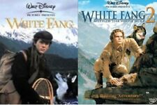 White Fang + White Fang 2 Myth of the White Wolf (Disney) New DVD Region 4