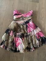 Diane Von Furstenberg Brighton Silk Dress Animal Print Multi Color Size 6