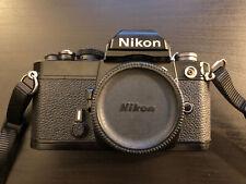 Nikon Fm Black 35mm Slr Film Camera (Body Only)