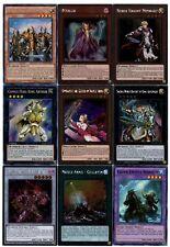 Yugioh Noble Knight Deck- Merlin, Medraut, Brothers, Vanity's Emptiness- 10 EX
