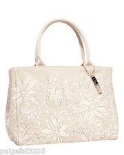 Neiman Marcus Target Oscar de la Renta Women's Floral Canvas Tote Bag Purse