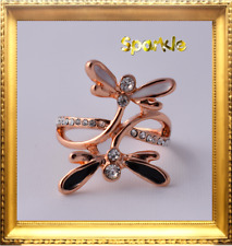 Beautiful Girls Gold DragonFly Ring 5-7 Years FREE AUSTRALIA POST size 5 Signet
