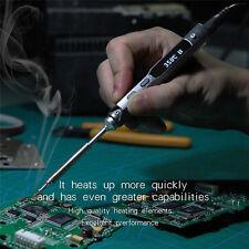 Portable Digital LCD Electric Soldering Iron Tool TS100 Welding Head Mini 65W