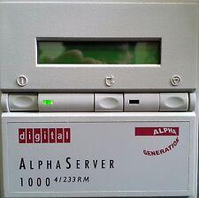 ALPHASERVER 1000 4/233 PB7RD-XA RACK MOUNT SERVER 64MB CD-ROM FLOPPY AND MORE