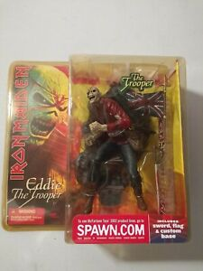 Iron Maiden Eddie The Trooper Mcfarlane Action Figure 2002 New