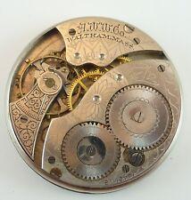Antique Waltham Pocket Watch Movements - Grade 210 - Parts / Repair