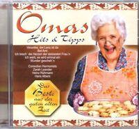 Omas Hits & Tipps Ilse Werner, Marika Rökk, Comedian Harmonists, Hans Alb.. [CD]