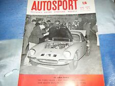 MG MGA 1600 FAMOUS TEST + IAN WALKER LOTUS ELITE EL 5