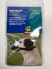 Top Paw Mesh Sz 3 Dog Temporary Muzzle 12-24 lbs-
