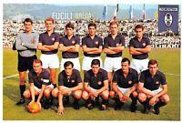 Football Soccer Italian Postcard, A.C Fiorentina 1966-1967 Season 2J