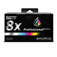 8x Pro Ink XXL for Lexmark Officeedge Pro 4000-c 5500-t