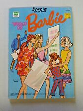 Vintage Whitman WORLD OF BARBIE 1971 Coloring Book Lightly Used  5400