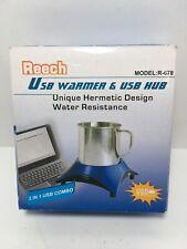 Reech 2 In 1 USB Warmer & USB Hub R-678 Home Office Desk