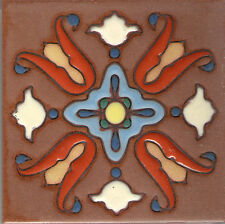 "California Mission Tile 'A'  4""x4"""