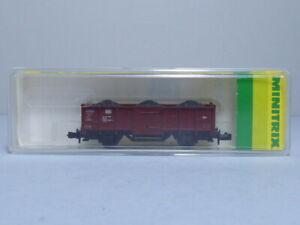 MINITRIX N Gauge LWB High Sided Mineral Wagon DB Ref 13538 R/N 5085385-4 Boxed