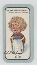 1927 Carreras Game Small #C.(2) The Aggressive Nose Non-Sports Card 1x2