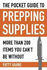 POCKET GUIDE TO PREPPING SUPPLIES - HAHNE, PATTY - NEW PAPERBACK BOOK