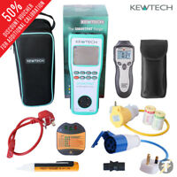 Kewtech SMARTPAT battery operated PAT Tester w/ adaptors and accessories KIT5H