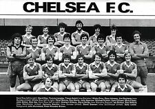 Chelsea Football Team FOTO STAGIONE 1979-80