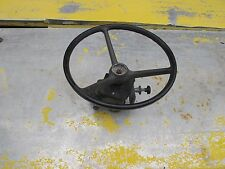 Steering wheel and valve for Holder C9700H tractor