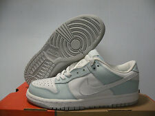 NIKE DUNK LOW SNEAKER WOMEN SHOES SKY BLUE/WHITE 302517-112 SIZE 10 NEW