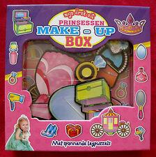 Mijn druk uit Prinsessen make-up box - met spannende legpuzzels - Kartonboek