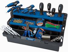 Draper Tool Organiser Box Screws Nails Storage Carry Case Box Work Station New
