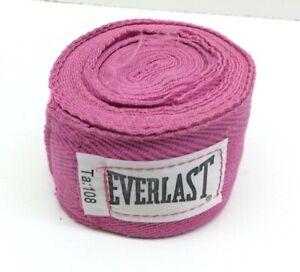 "Everlast Standard Boxing Hand Wraps 108"" Pink"