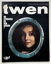 twen - Kult Zeitschrift Heft Nr. 1 Januar 1961, Torero Paco Camino, TOP!