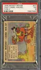 1935 MICKEY MOUSE TYPE II #27 THAT CAMEL WALKS PSA 3 *DS6170