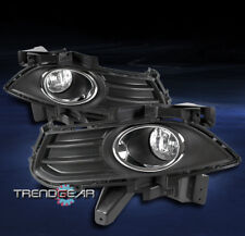 2013-2016 FORD FUSION MONDEO FRONT BUMPER DRIVING FOG LIGHT LAMP CHROME W/BEZELS