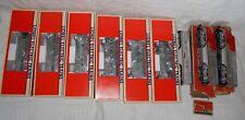 Lionel Santa Fe 2343 Powered Loco Dummy C Unit Aluminum Passenger Cars w/ Boxes