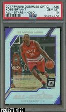 2017-18 Donruss Optic Holo All-Stars Kobe Bryant Los Angeles Lakers PSA 10