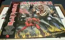 IRON MAIDEN NUMBER OF THE BEAST LTD EDITION PICTURE VINYL