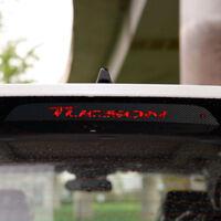 Carbon Fiber Style 3. Bremsleuchte Bremslicht Sticker für Hyundai Tucson TL TLE