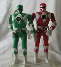 1993 Mighty Morphin Power Rangers Green Tommy & Red Jason Action Figures