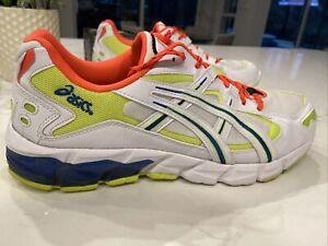 Asics Gel-Kayano 5 KZN Men's Shoes Size 13 white/neon/orange/blue 1021A380-100