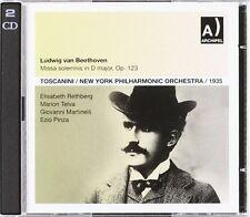 Beethoven / Martinel - Missa Solemnis: Rethberg-Telva [New CD]