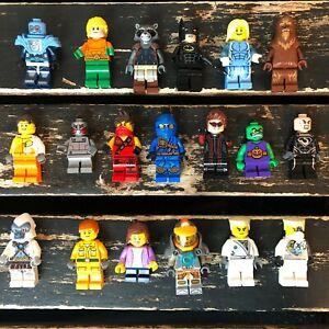 Lego Minifigure Lot Toy Action Figure Collectible Huge Bulk Incomplete Set 19