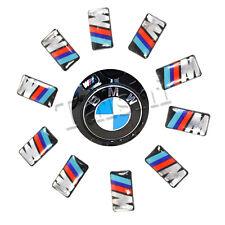 10X FÜR BMW M3 M5 M6 FELGEN TACHO LENKRAD 3D EMBLEM AUTO AUFKLEBER CAR STICKER