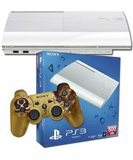 PS3 500GB CONSOLE WHITE + GOD OF WAR ASCENSION SPECIAL EDITION CONTROLLER BUNDLE