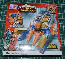 Mega Bloks 5819 Power Rangers Super Samurai Clawzord Gold Ranger