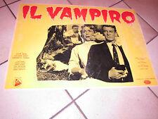 John Beal IL VAMPIRO fotobusta  1958  1 EDIZIONE