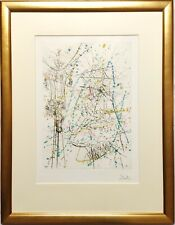 SALVADOR DALÍ SIGNED ARTIST PROOF DRYPOINT COLOUR LITHOGRAPHY PRINT, CHINA TOWN