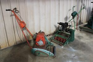 Vintage Antique Petrol Mower Drum Qualcast SUFFOLK Super Simplex Villiers Victa