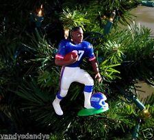 rodney HAMPTON new york GIANTS football NFL xmas TREE ornament HOLIDAY jersey 27