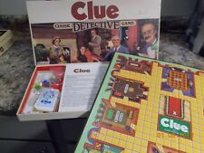 1986 Parker Brothers Game of Clue Complete, unused preowned, Excellent Condition